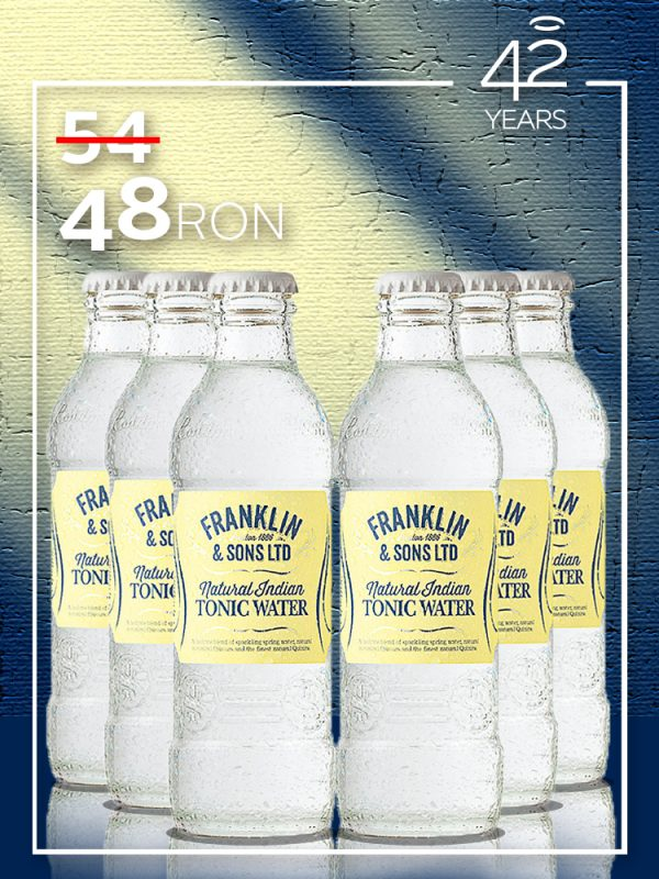 Franklin & Sons Ltd. ~ Natural Indian Tonic Water 0.2L